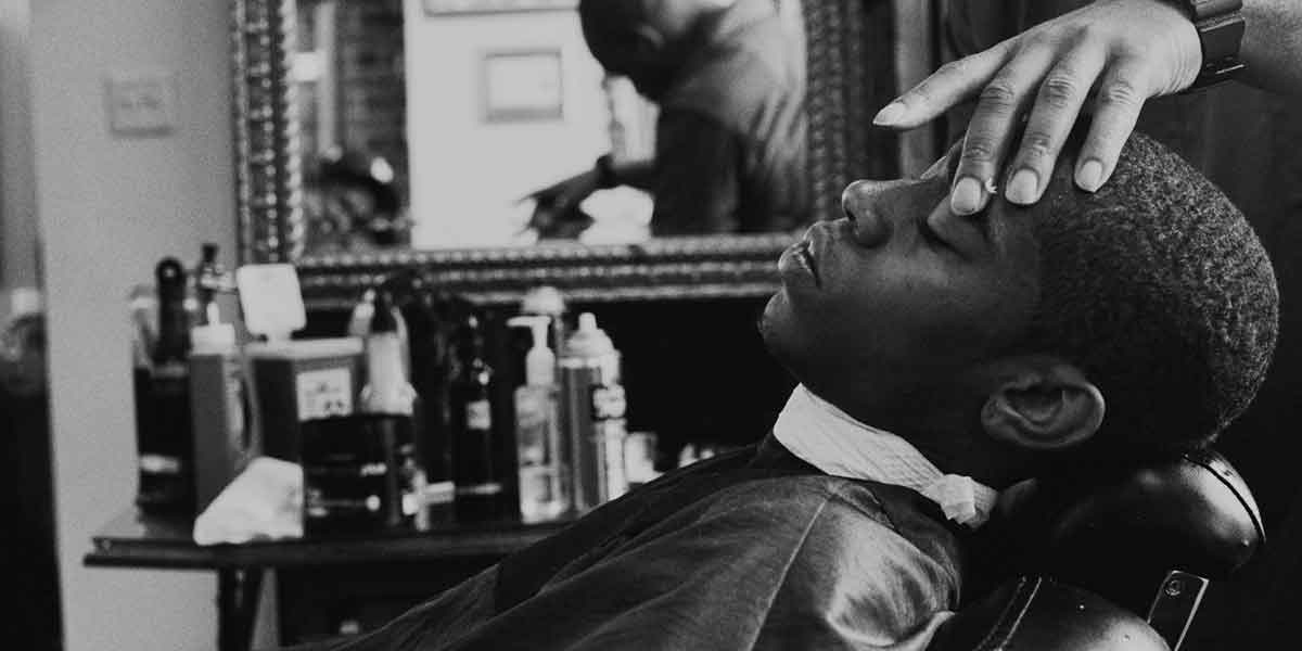 Barbers in Midtown Manhattan